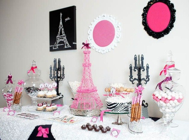 parisian themed ladies night out