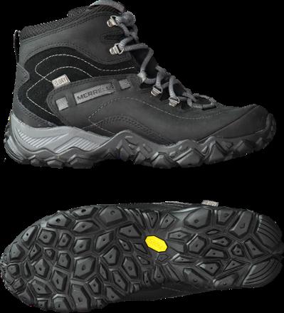 bb25671b99904f Merrell Chameleon Shift Traveler Mid Waterproof Hiking Boots - Women's